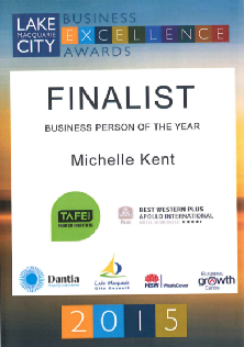 Finalist 2015 LMC Business Person of the Year